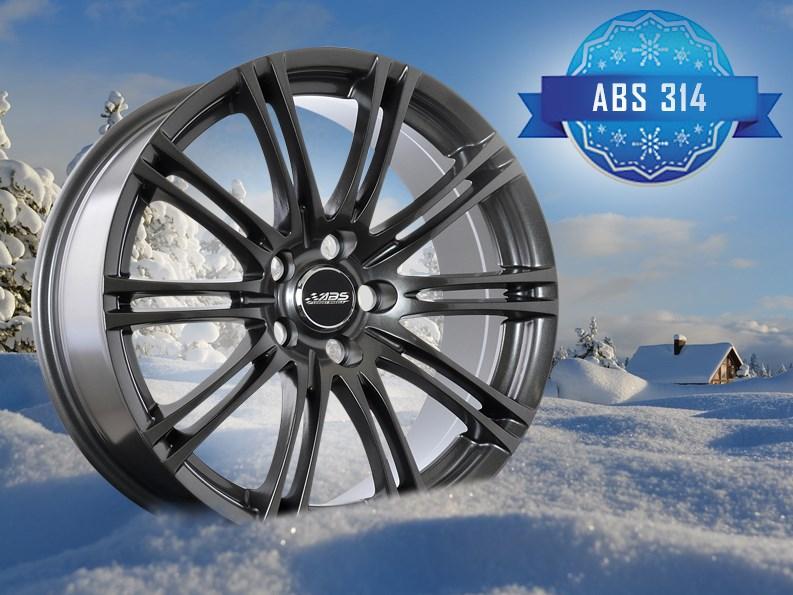 aluminiumfälgar på vintern
