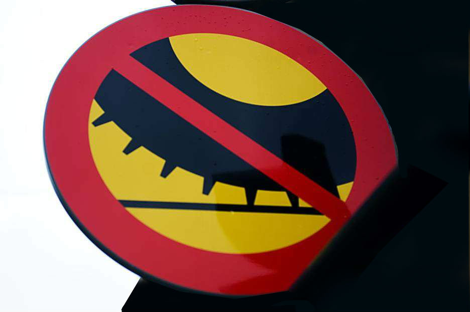 Dubbdäcksförbud i Stockholm, Göteborg, Malmö och Uppsala