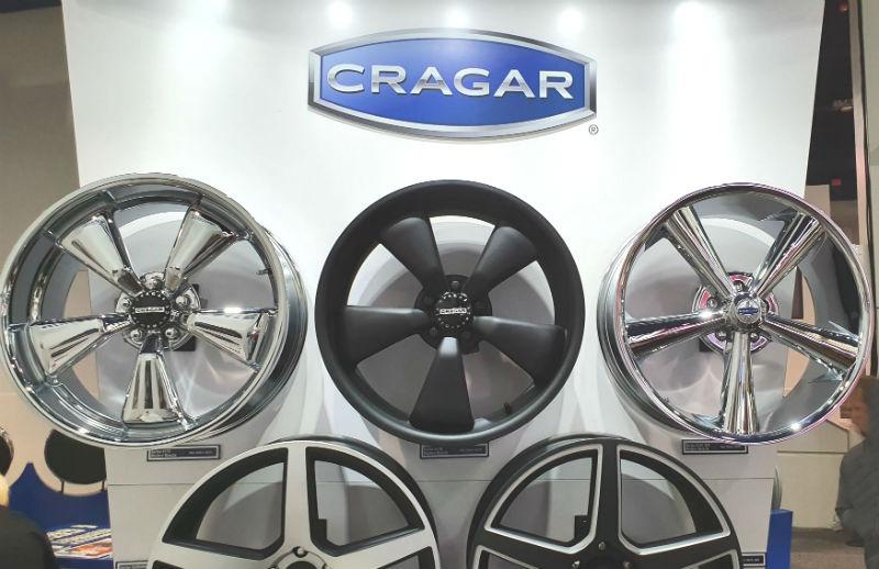 Här besöker vi Cragar Wheels i USA (sema show)