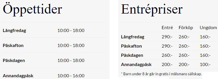 ÖPPETTIDER ELMIA BILMÄSSA