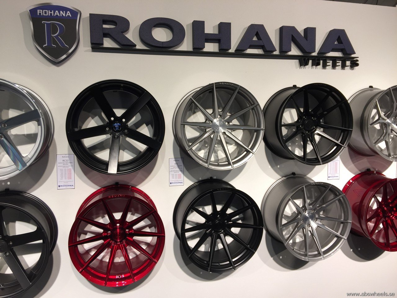 rohana wheels 2017