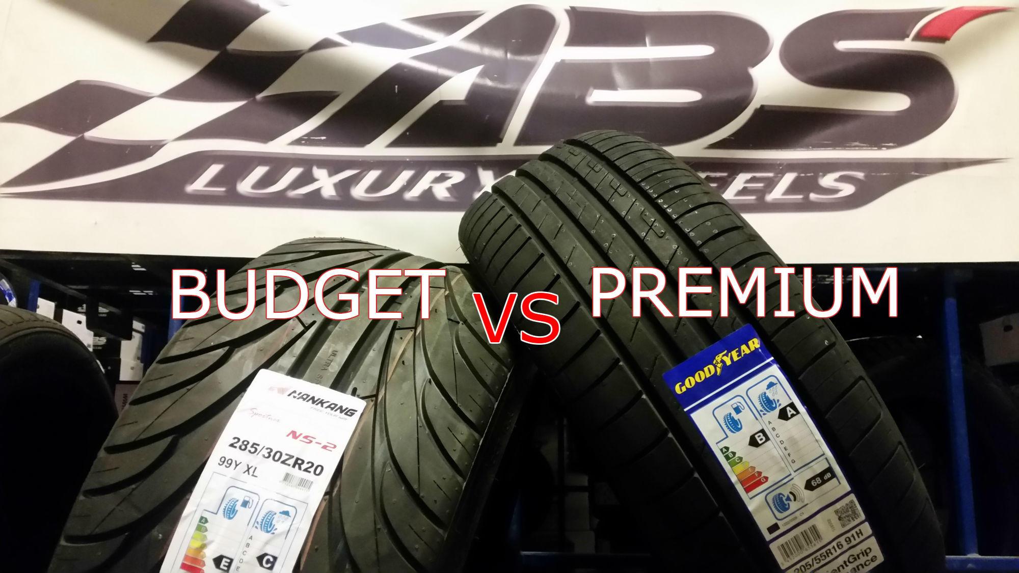budget vs premium sommardäck bäst i test