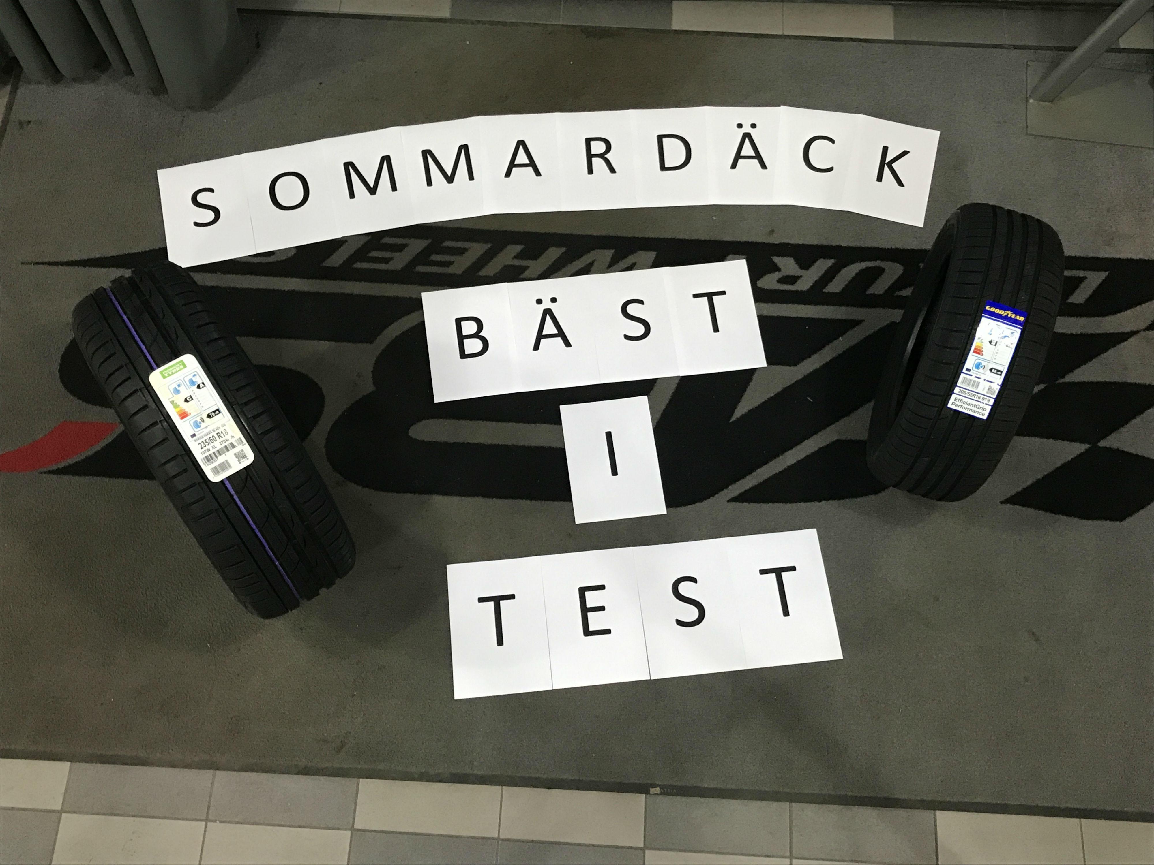 Sommardäck bäst i test exklusiv lista från 2014 2018 ABS Wheels