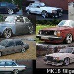 Nostalgi fälg från 90-00 talet – MK18!