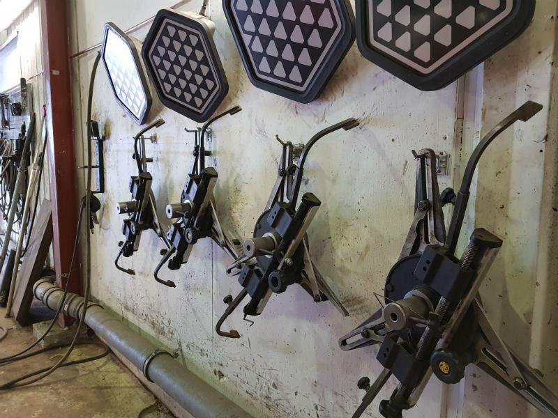 laser mottagare till hjulinställning