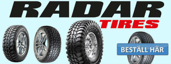 radar däck
