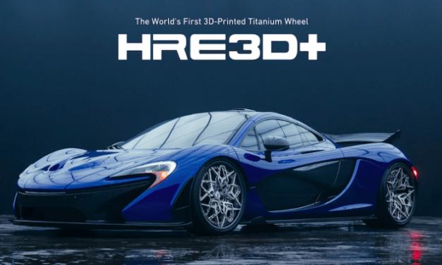 3D-Printade Hre fälgar (världens första)