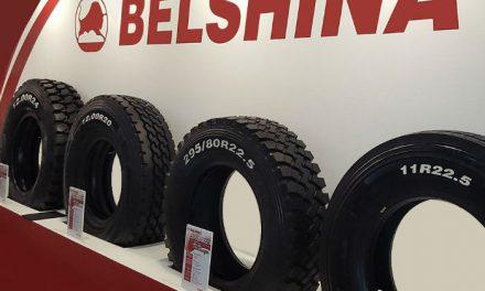 Belshina däcket kommer från Belarus