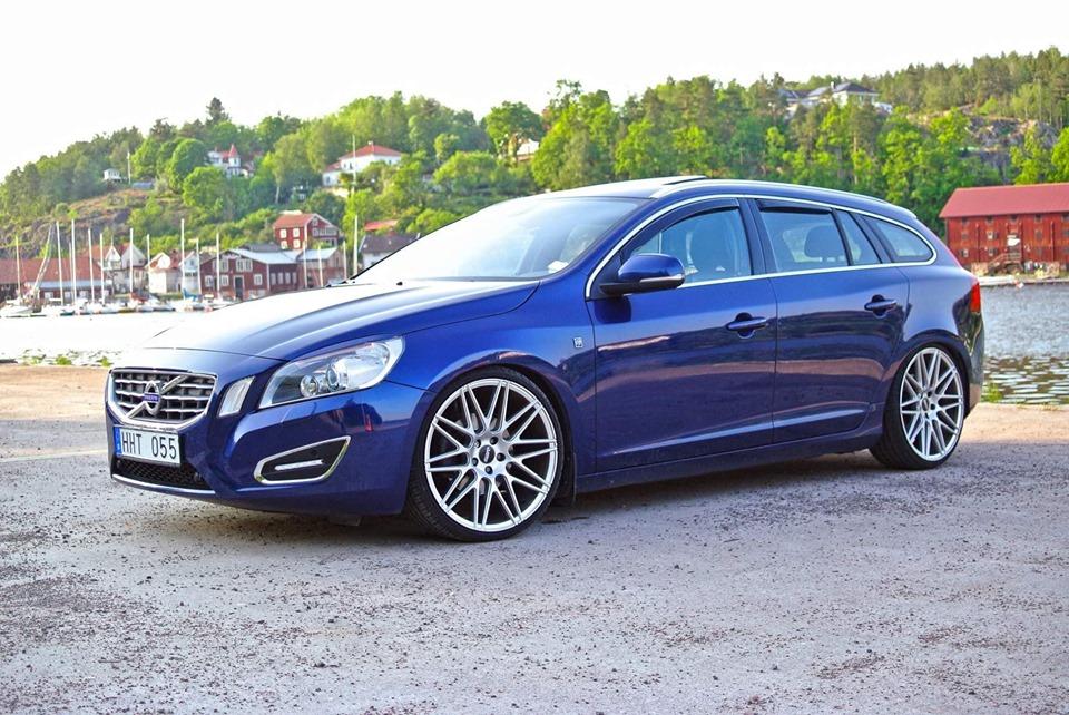Volvo med ABS Wheels