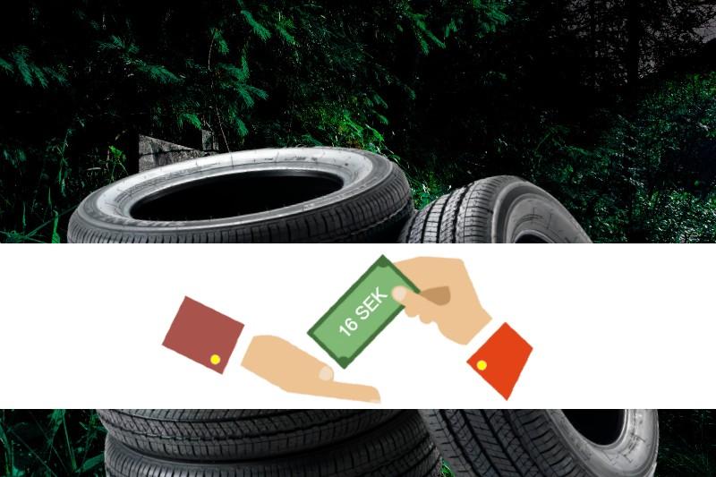 miljöavgift däck