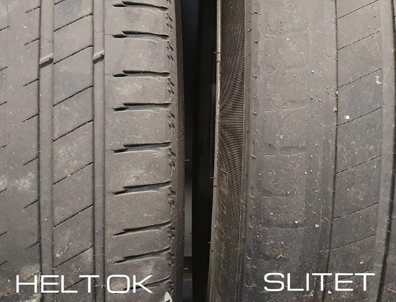 är däcken slitna?